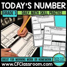 476 Best Third Grade Math Centers Games Activities Images