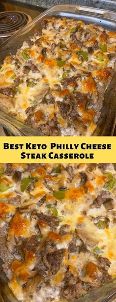 Ketogenic Diet My Keto Notes: Best Keto Low-Carb Philly Cheese Steak Casserole –. Ketogenic Diet My Keto Notes: Best Keto Low-Carb Philly Cheese Steak Casserole –. Pollo Keto, Cena Keto, Comida Keto, Eat Better, Low Carb Casseroles, Best Casseroles, Ketogenic Recipes, Atkins Recipes, Low Carb