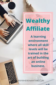 Online careers? I didn't know a thing about work from home business, making money online or affiliate marketing. Wealthy Affiliate is how I learned to step by step to make extra money as a beginner with no experience in marketing or online business. Check out my review of this affiliate marketing program (that I still use many years later). Online Work From Home, Work From Home Business, Online Business, Business Ideas, Online Careers, Affiliate Marketing, Marketing Program, Bookkeeping Business, Making Extra Cash