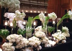 wedding table flowers? -Jeff Leatham