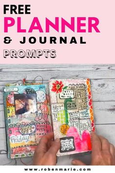 Mixed Media Journal, Mixed Media Collage, Life Journal, Junk Journal, Collage Book, Book Art, Bullet Journal Inspiration, Journal Ideas, Bullet Journal Lettering Ideas