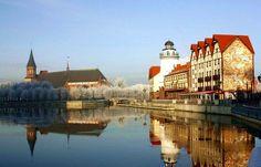 Kaliningrad Embankment-Russia