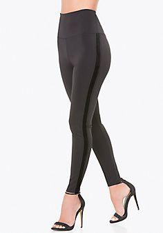 Velvet+Striped+Tux+Leggings #bebe #wishlist #sweepstakes