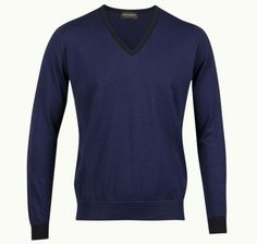 Waller In Col 1, Pullover Made From John Smedley Sea Island Cotton | John Smedley Official Store