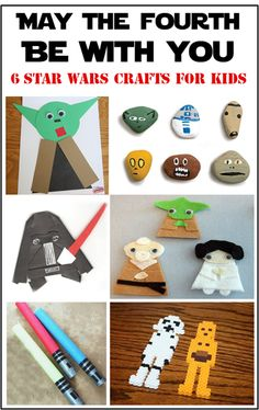Star Wars Craft Ideas for Kids - May the Fourth Be With You!