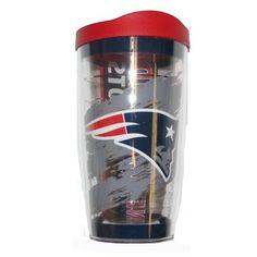 Official New England Patriots ProShop - Tervis Wrap 16oz Tumbler/Lid