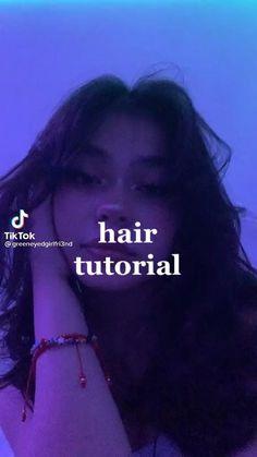 Hair Tips Video, Hair Videos, Hair Inspo, Hair Inspiration, Medium Hair Styles, Curly Hair Styles, Curly Hair Dos, Aesthetic Hair, Dream Hair