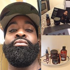 A few People have asked me what I currently use for beard care. I have been using Scotch Porter(formerly called Nude) products for almost a year now and I love it! #scotchporter #beardgang #beard #beardnation #beardedlife #blackandbearded #blackmenwithbeards #beardgrooming by bohemian_gentleman
