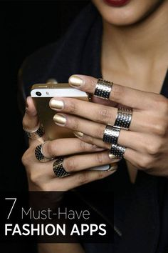 Do you have these apps downloaded to your phone? They're must-haves for any fashion lover.
