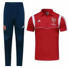919918d3f79 Arsenal 19 20 Red Polo Shirt (with long pants)