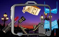 Pump En Ibiza o en París, tú eliges: Noches de verano  Equipaje y destino para una inolvidable noche de verano.