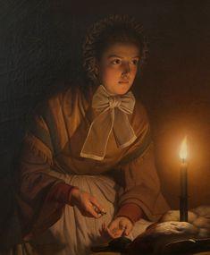 #Petrus van Schendel. Dutch (1806-1870)  #art #paint