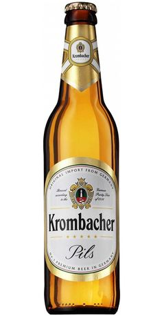 Krombacher Pils /Cerveza alemana tipo German Pilsener /Alcohol 4,8% / BA SCORE 78 okay