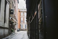 Back street in London by Shaina Savoia