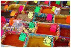 Les couleurs du marché du vieux nice
