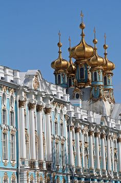 "Tsarskoye Selo, Pushkin, St. Petersburg, Russia - ""Catherine Palace"" by April.Moulton, via Flickr"