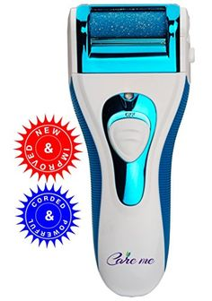 Powerful Callus Remover by Care me - Electrical and Corded - Runs with Extra Strength - Best for the Coarse & Callused Feet - Dare To Compare With Emjoi Micro-Pedi Electric Callus Remvoer Care me http://www.amazon.com/dp/B00PIJVEOE/ref=cm_sw_r_pi_dp_-mnSub1WYH236