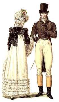 Site has good overview of men's wear. Regency Reproductions and also a free pattern to make a cravat