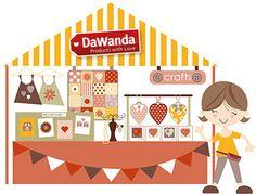Erfolgreicher DaWanda-Shop