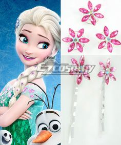 2015 Short Disney Film Frozen Fever Elsa Queen Birthday Party Cosplay Hairpin with 5 Pcs #Everyone Can Cosplay! Cosplay costumes #Anime Cosplay Accessories #Cosplay Wigs #Anime Cosplay masks #Anime Cosplay makeup #Sexy costumes #Cosplay Costumes for Sale #Cosplay Costume Stores #Naruto Cosplay Costume #Final Fantasy Cosplay #buy cosplay #video game costumes #naruto costumes #halloween costumes #bleach costumes #anime