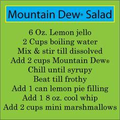 Mountain Dew® Salad