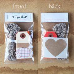 mini gift wrapping kit