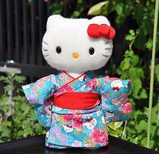 Hello Kitty Japan Limited New Kimono Plush Doll Rare Stuffed Kawaii Cute Sanrio