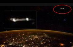 Astronaut Scott Kelly Tweets Photo Of UFO From ISS |UFO Sightings Hotspot