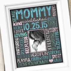 Get Your Custom Printable In Time For Mothers Day New