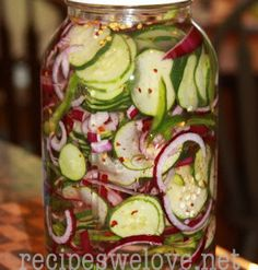 Refrigerator Cucumber Salad | Recipes We Love