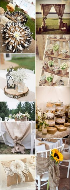 50 + Chic-Rustic Burlap Wedding Ideas: http://postorder.tumblr.com/post/157432586319/options-for-short-black-hairstyles-2017