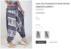 KokoNorth is the excellent online store produces the comfortable handmade clothing gorgeous prints. Buy online the new designs harem pants jumpsuit in the different countries. We especially value the creativity and unique designing of products.