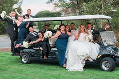 Royal Crest Room Orlando Wedding | golf wedding