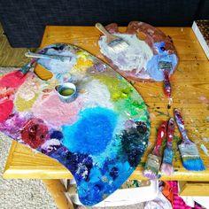 color puzzle on palette ;)