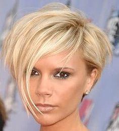 V Beckham hair. Still love this cut.
