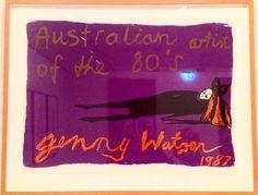 Jenny Watson's 1987 Australian Artist of the 80s at MCA, Sydney