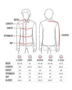 Shirt sizes Mens Sewing Patterns, Sewing Men, Sewing Shirts, Sewing Clothes, Clothing Patterns, Men Clothes, Style Clothes, Sewing Lessons, Sewing Hacks