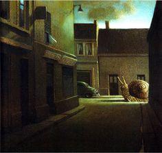 絵本でとても有名なミヒャエル・ゾーヴァの非現実的な絵画世界 | ARTIST DATABASE - Part 2