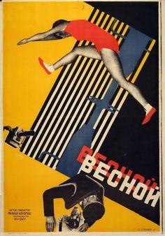 GRAFICA: I Poster dei fratelli Sternberg | Pionieri del Costruttivismo - Osso Magazine