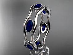 14k white gold beautiful wedding ring,engagement ring