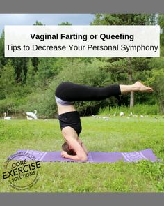 Tips to Stop Vaginal Farting or Queefing - Core Exercise Solutions Do Exercise, Excercise, Retroverted Uterus, Pelvic Floor Exercises, Diastasis Recti, Postpartum Recovery, Hip Pain, Muscle Tone, Workout Programs
