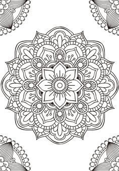 11 Mandalas for colouring