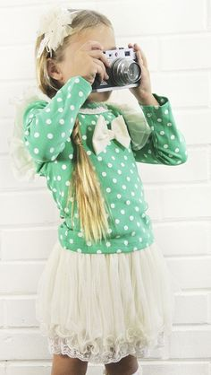 This is something I defenetly need! Especially  the camera! And the adorbs outfit!