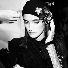 Look from ORSKA fashion show. Photo by Aga Szenrok, jewelry by Anna Orska.