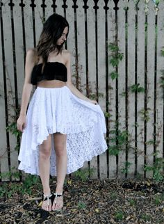 this skirt, asym done right Boho Skirts, High Low, Cool Style, Tulle, Cute Outfits, Ballet Skirt, Spring, Beautiful, Dresses