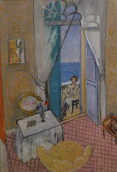"fuckyeahexpressionism: ""Henri Matisse, Interior at Nice, 1919 or 1920 """