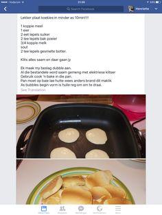 Plaatkoekies Tart Recipes, Baking Recipes, Dessert Recipes, Cut Recipe, Kos, South African Recipes, Potato Cakes, Bread And Pastries, Cheap Meals