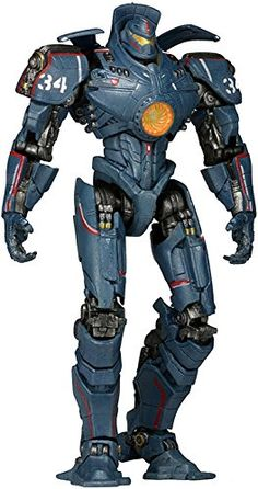 "Amazon.com: NECA Pacific Rim 7"" Deluxe Series 4 Gipsy Danger 2.0 Action Figure: Toys & Games"