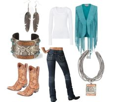 cute western outfit! want! obsessed!