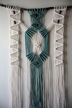 Resultado de imagen para cortinas de macrame patrones